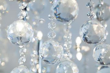 Lamp crystal light background