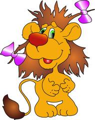 Lion cub.