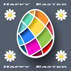 Colorful Easter Egg