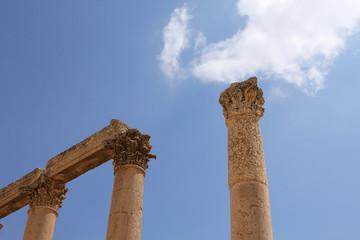 Säulen in Jerash