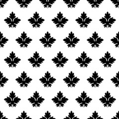 deciduous seamless pattern