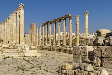 Säulenstraße durch Jerash