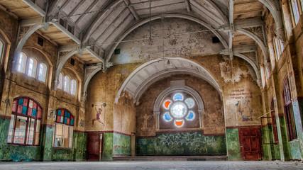 Papiers peints Ancien hôpital Beelitz Sporthalle beelitz heilstätten Männerklinik