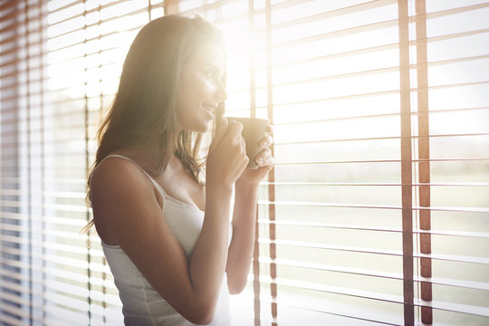 Morning sunshine and good coffee always makes me in a good mood