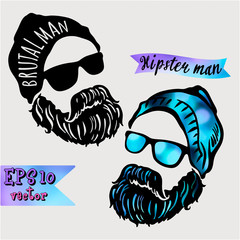 Hipster symbol of dreams