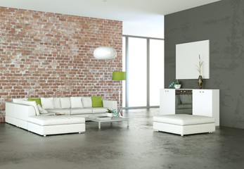 modernes Sofa Interieur Design