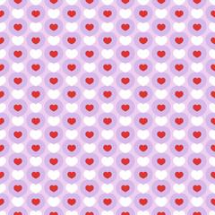 Seamless Heart Pattern 3