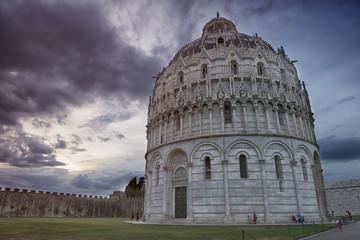 Pisa Baptistry of St. John, Italy