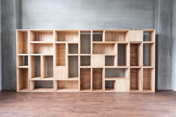 Empty wooden