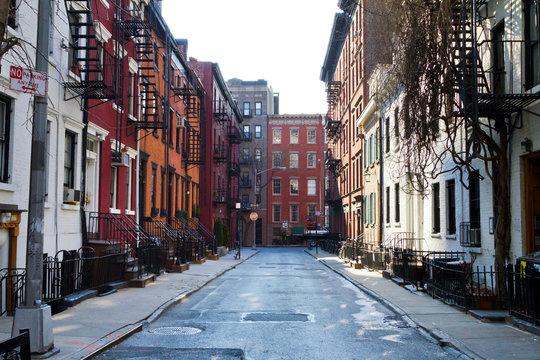 Historic Gay Street in New York City