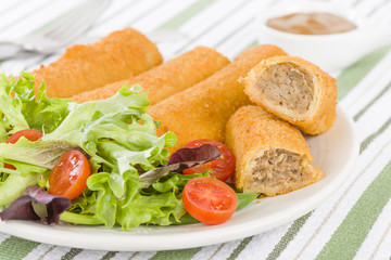 Krokiety - Polish croquettes filled with beef and mushrooms