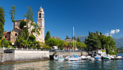 Chiesa di San Lorenzo, Tremezzo, Lake Como, Italy, Europe