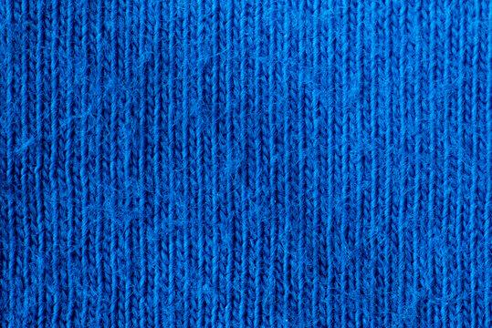 Blue natural textile