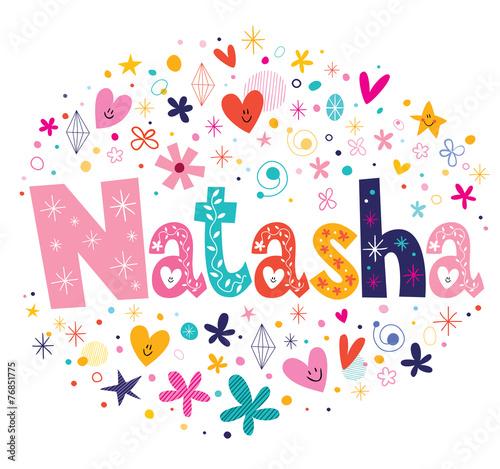 Natasha name design