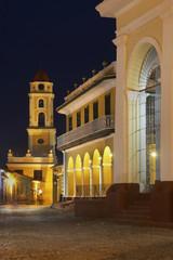 St. Francis church in Trinidad. Cuba