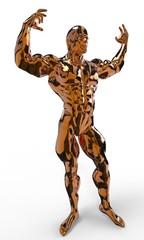Golden Bodybuilder
