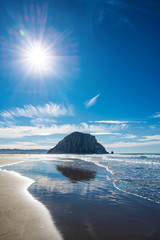 Morro Rock, California, USA