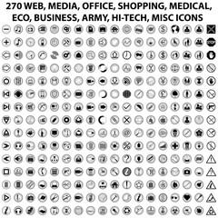 270 WEB ICONS