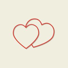 Hearts icons.
