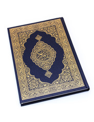 "The Holy Book ""Qur'an"" Isolated"