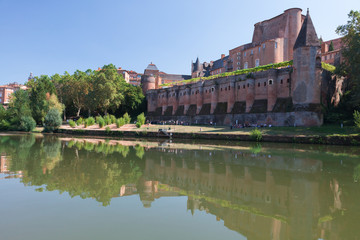 Palace Berbie in Albi, France