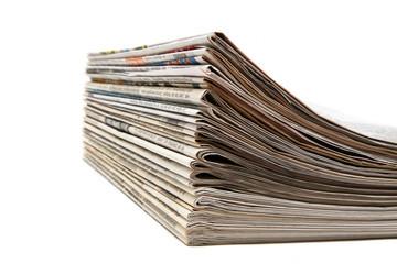 Gedruckte Zeitungen