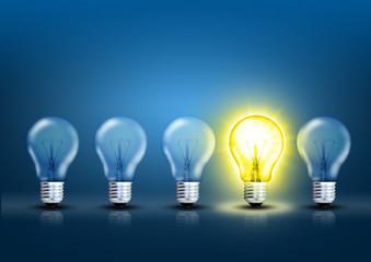 Innovative Lampe
