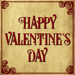 Valentine`s day card 3