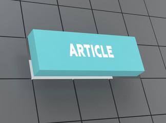 Concept ARTICLE