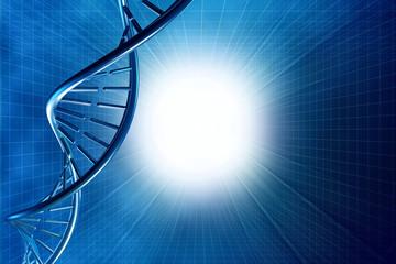 digital illustration humen cell DNA