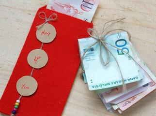 Vietnam Tet, red envelope, lucky money
