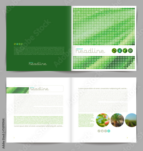 Template booklet design cover and inside pages stock image and template booklet design cover and inside pages pronofoot35fo Choice Image