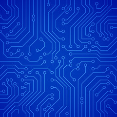 Vector circuit board or microchip.