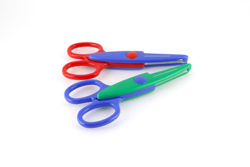 Two color scissors