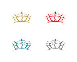 Abstract crown F