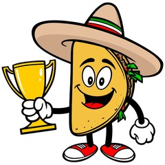 Taco with Trophy