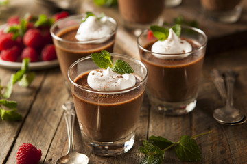 Homemade Dark Chocolate Mousse