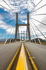 Bridge on the highway from Mexico city to Acapulco vertical