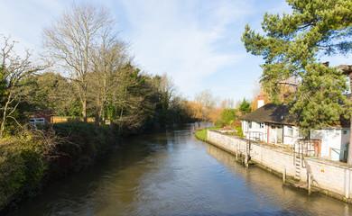 River Avon Christchurch Dorset England UK