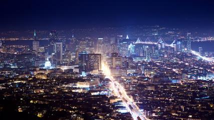 Fototapete - San Francisco Cityscape