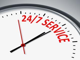 24 7 Service