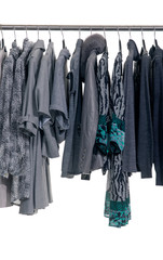 Fashion female,autumn/winter clothes rack display