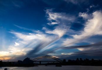 Wall Mural - Sky over Sydney