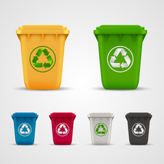 Ecological trash set