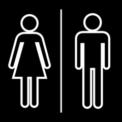 Toilet icon great for any use. Vector EPS10.
