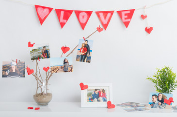 Decoration for Valentine's day