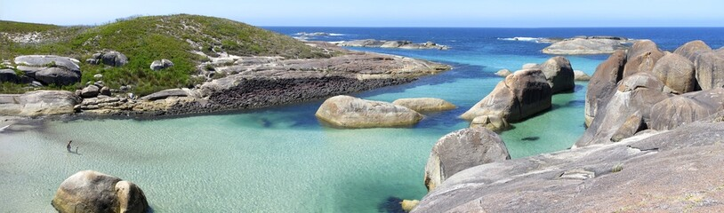Fotorolgordijn Australië Elephant Rocks, Denmark, Western Australia