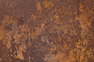 Deurstickers Metal Rusty metal texture