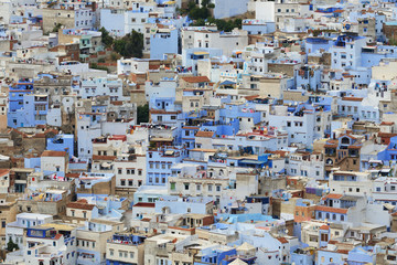 Morocco. Blue medina of Chefchaouen city
