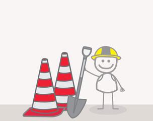 Man Under Construction